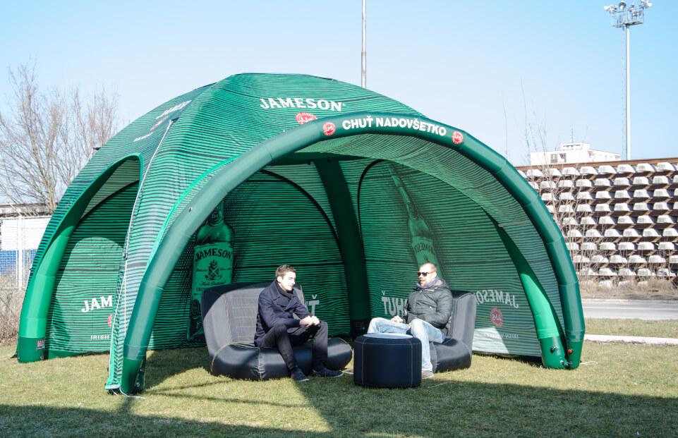 Cort gonflabil profesional Axion Square Jameson