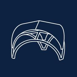 Axion Tripod concept de cort gonflabil