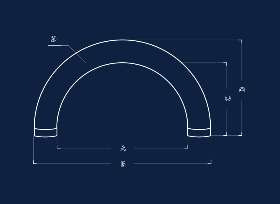 Dimensiune poarta gonflabila rotunda