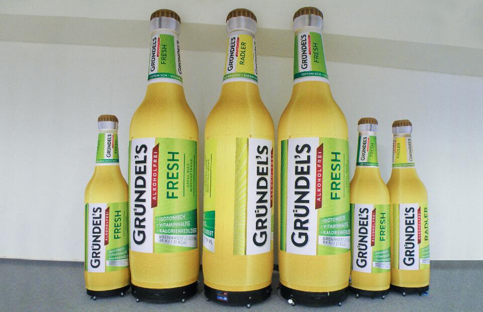 Sticla gonflabila fara compresor bere Grundels